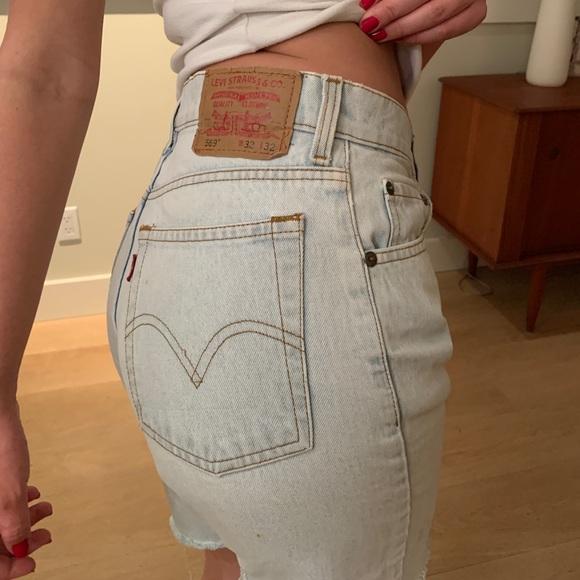 Vintage Levi Long Shorts